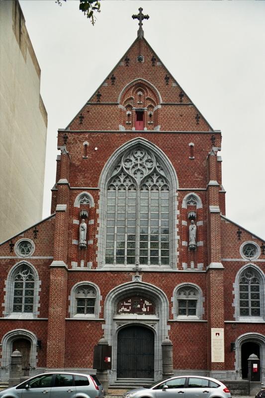 Chapelle des Dominicains - Informations sur l'édifice ... Parc Du Cinquantenaire